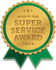 Lanier Roofing Super Service Award