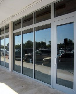 Windows replaced for a commerical building in Greenville County.