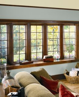 A Compositwood window installed by our professionals in Greenville.