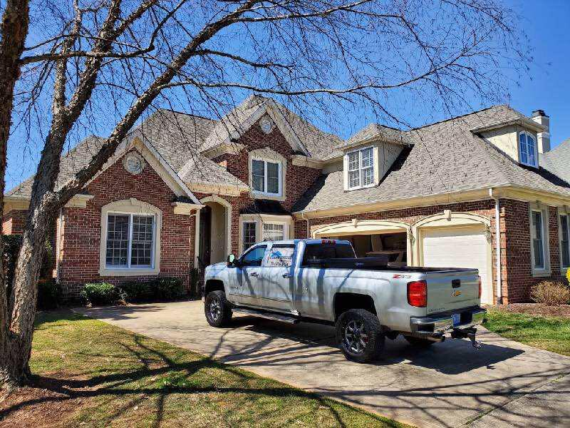 Lanier Roofing vintage house shingle roof replacement