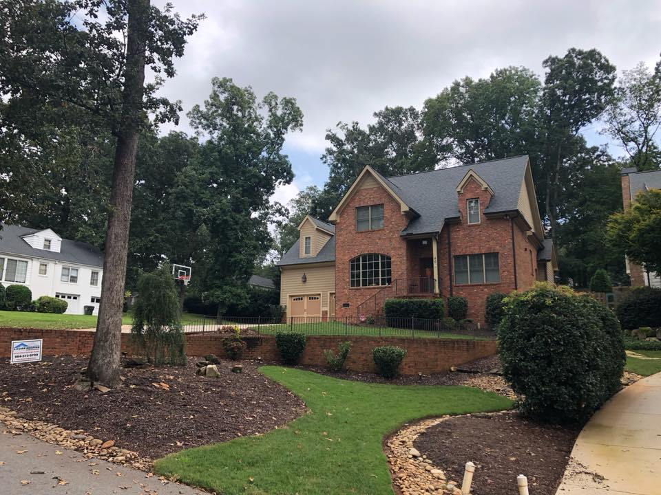A residential home our company replaced the roof on in Greenville, SC